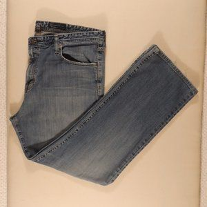 Adriano Goldschmied Men's Blue Jeans Relaxed 38/32